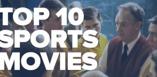 top 10 best sports movies ever made tv geeks 2014
