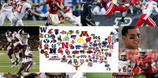 2014 college football recap collage ncaa