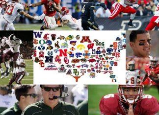 2014 college football recap collage ncaa