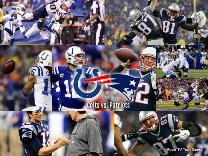 2015 nfl afc colts vs patriots images