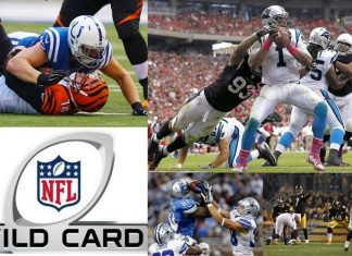 2015 nfl wildcard weekend playoffs images