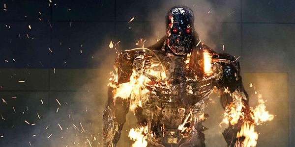 Arnold Schwarzeneggar Back To Business In TERMINATOR GENISYS Super Bowl Trailer
