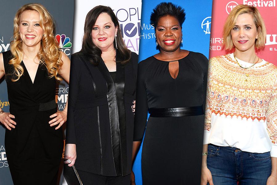 all female ghostbusters kristen wiig for movie tv tech geeks 2015