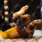 anderson silva break leg in ufc chris weidman fight 2014