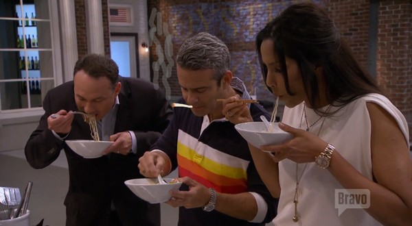 andy cohen sucking up juices on top chef boston 2015 images