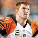 andy dalton bengals playing with himself nfl 2015 wildcard playoffs images