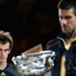 andy murray vs novak djokovic australian open 2015 images
