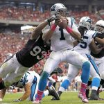 arizona cardinals versus carolina panthers 2015 wild card playoffs nfl