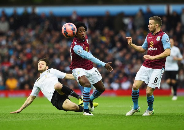 aston villa beats bournemouth bulge fa cup fourth round soccer 2015 images