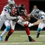 atlanta falcons fade out against panthers 2014 nfl images