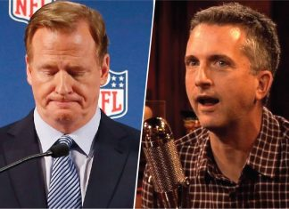 bill simmons from espn for calling nfl roger goodell out 2014