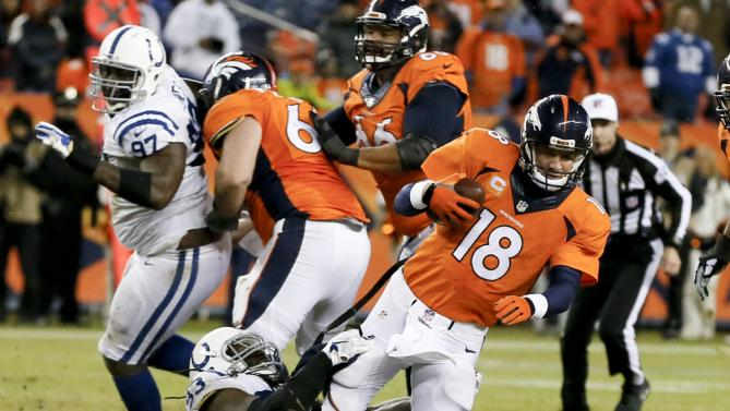 broncos peyton manning sacked by colts nfl 2015