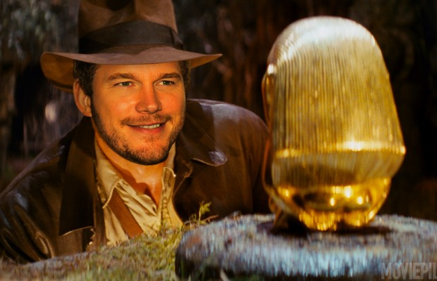 chris pratt proving indiana jones material for disney