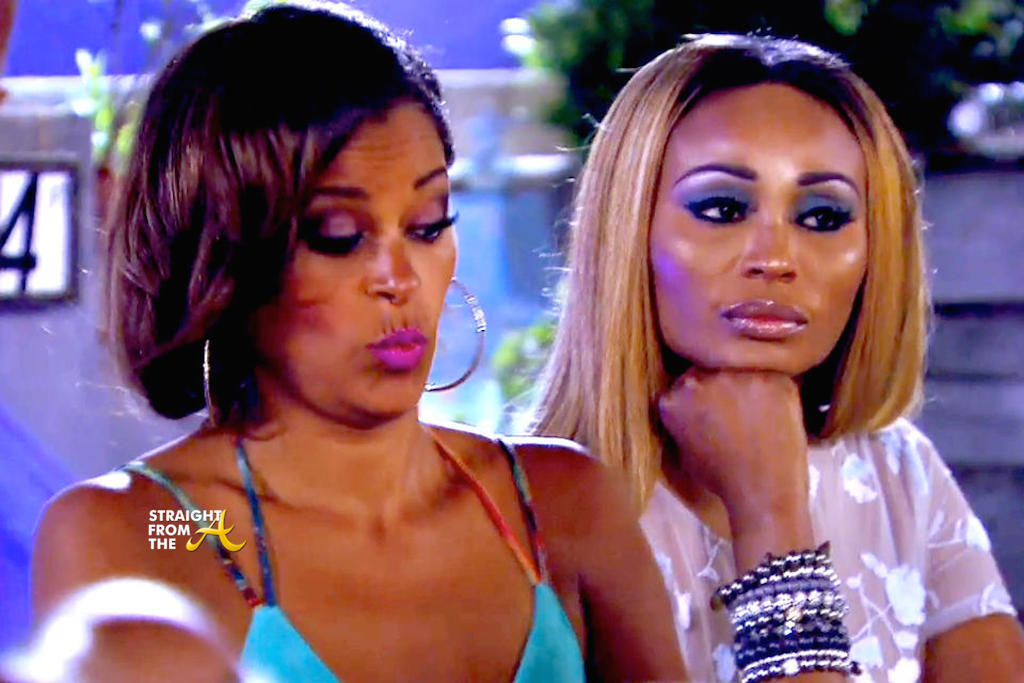 claudia jordan reacts to nene leakes real housevies of atlanta 2015