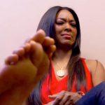 claudia jordans feet problem for kenya real housewives of atlanta 2015