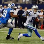cole beasley cowboys breaks from detroit lions nfl wild card 2015 images