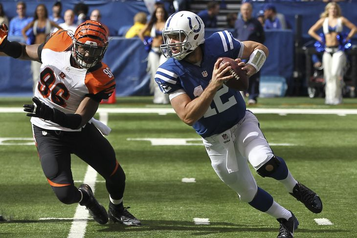 colts vs bengals 2015 nfl wild card 2015 images