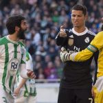 cristiano ronaldo anger bulge sets in with real madrid vs cordoba 2015 images