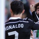 cristiano ronaldo bulges with jose angel crespo real madrid vs cordoba match 2015