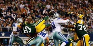 dallas cowboys nfl vs green bay packers 2015