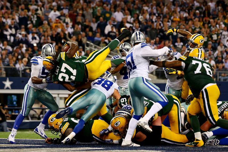 dallas cowboys vs green bay packers 2015 nfl playoffs images
