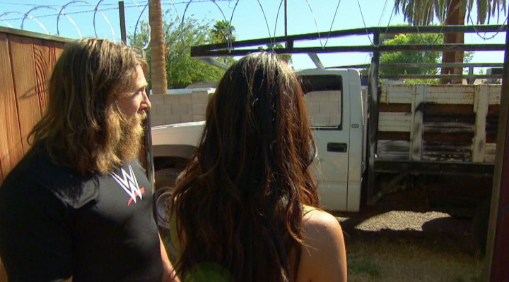 daniel wwe bulge with brie protecting house in total divas 2015 images