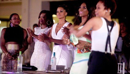 demetria performs on real housewives of atlanta 2015 images