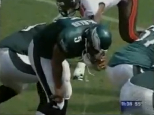 donovan mcnabb throwing up best super bowl moments in history 2015