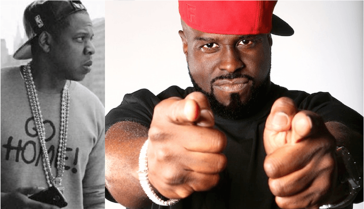 funkmaster flex vs jay z over text message caps 2015 images