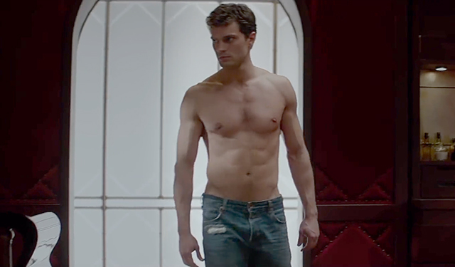 jamie dornan shirtless for fifty shade of grey 2015 images