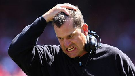 jim harbaugh makes his sophies choice