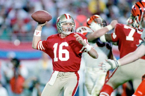joe montana super bowl xxiii 92 yard touchdown best moments in history 2015