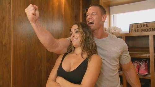john cena with nikki on total divas breaking realtionship up