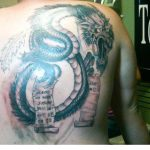 jon gosselin giant dragon celebrity tattoo 2015 images