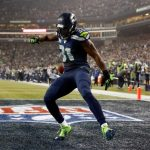 kam chancellor intercepts cam newton for seattle seahawks 2015 nfl win