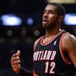 lamarcus aldridge thumb surgery nba out for portland trail blazers images