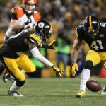 landry jones drops pittsburgh steelers vs baltimore nfl wildcard 2015 images