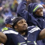 marshawn lynch arms open for seattle seahawks dynasty wish 2015