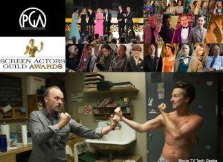 michael keatons birdman takes pga sag awards plus downton abbey 2015