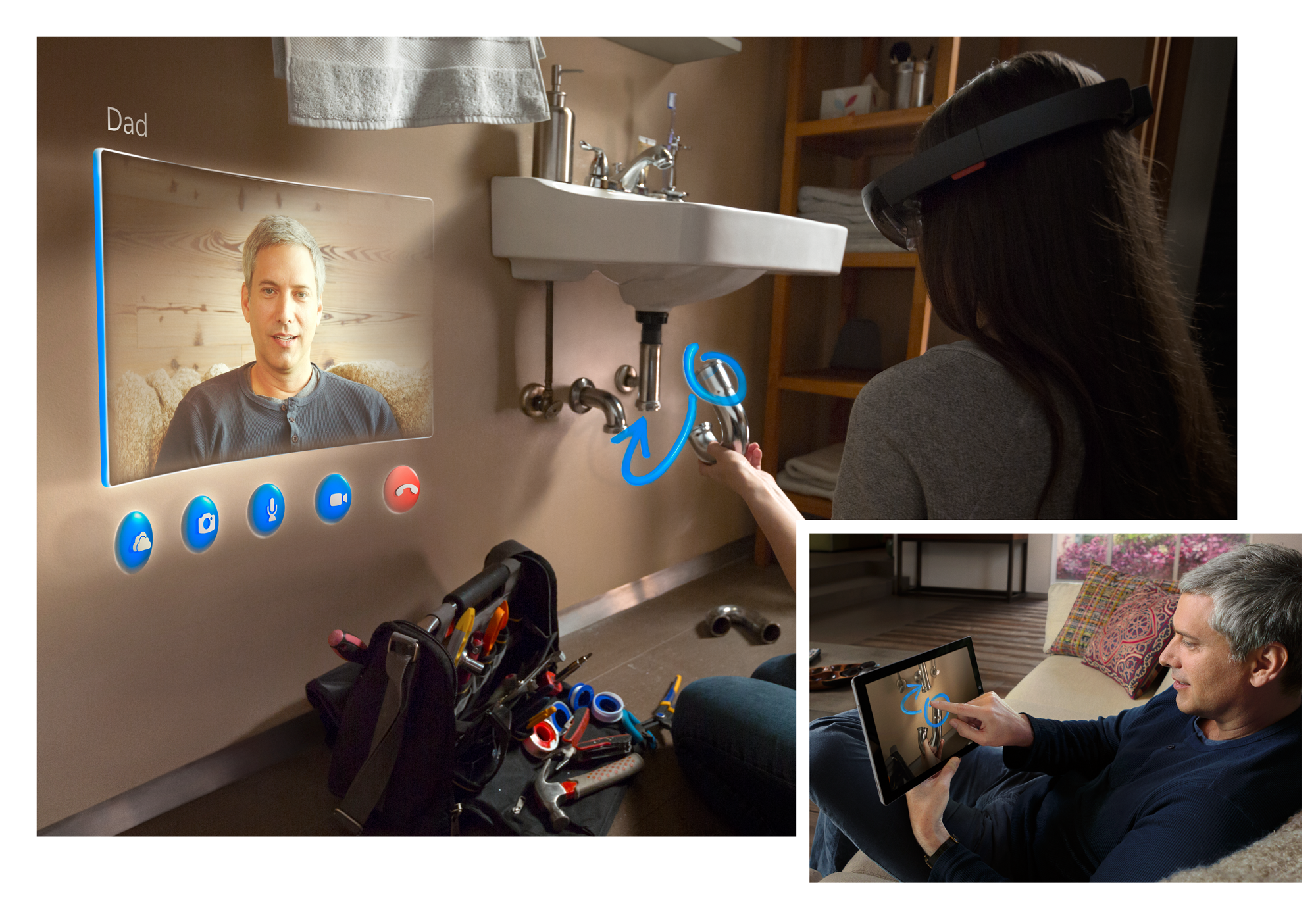 microsoft hololens brings ease to life 2015 images