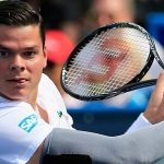 milos raonic canadian hot tennis player 2015 images