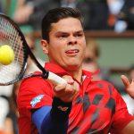 milos raonic tongue work on novak djokovic tennis 2015 images