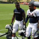 montee ball with ronnie hillman nfl denver broncos return 2015