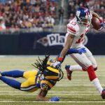 new york giants take out st louis rams 2014 nfl season images