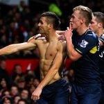 newcastle vs southampton premier league shirtless soccer 2015 images