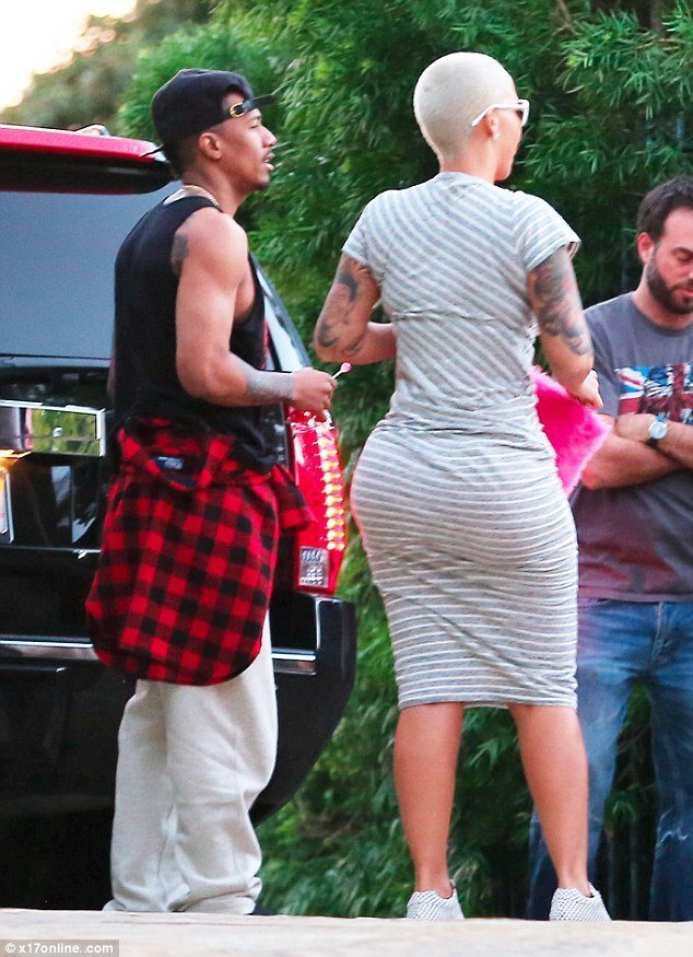 nick cannon and amber rose move forward into each other images 2015