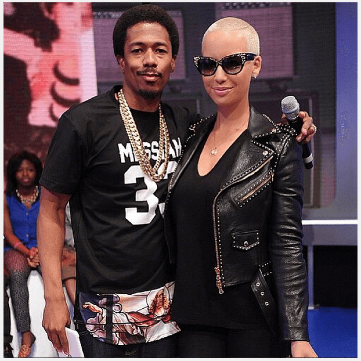 nick cannon swears hes just friends with amber rose 2015