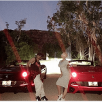 nick cannon twin cars with amber rose but say just friends 2015 images
