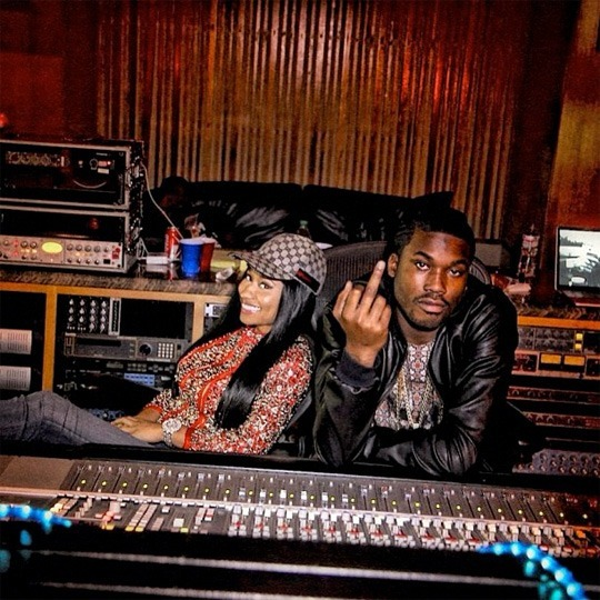 nicki minaj pregnant home wrecker for meek mill 2015 images