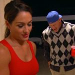 nikki water sports bulge with john cena on total divas 2015